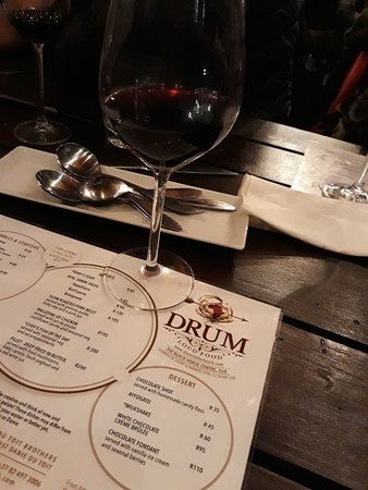 Drum: Wine to die for,.. The grinder Pinotage