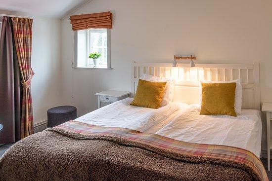 Ett av våra sovrum i vår svit.