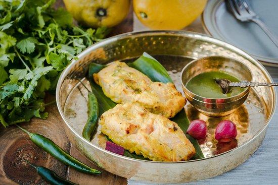 Aamcha Eastern Kitchen: Salmon Tikka