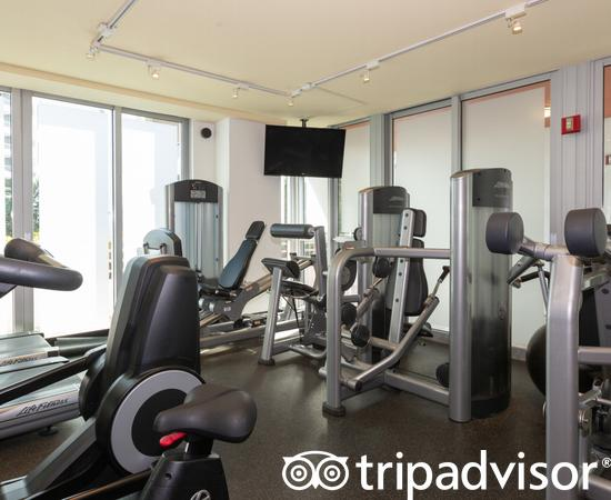 Fitness Center at the Hilton Bentley Miami/South Beach