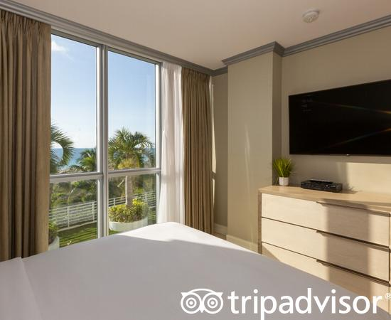 The Two Bedroom Ocean Front Suite at the Hilton Bentley Miami/South Beach