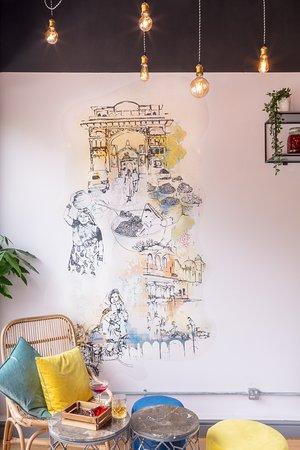 Aamcha Eastern Kitchen: Interior