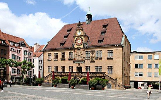 Das Heilbronner Rathaus