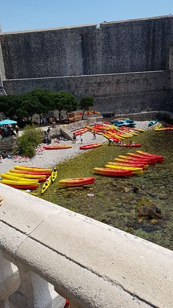Adventure Dubrovnik - Sea Kayaking, Snorkeling, Sunset and Wine -with Snack!: Starting point