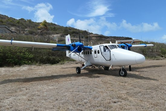 Palm Island Resort & Spa - All Inclusive: The plane that brought us to Union Island from Barbados