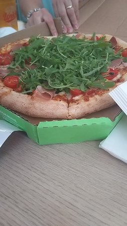 Great fast food pizza