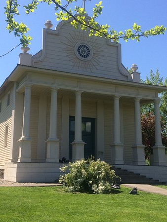 Cataldo, ID: Oldest Building preserved in the state of Idaho