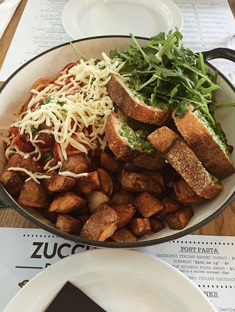 Zucchini Pasta Bar: The Big Sharer