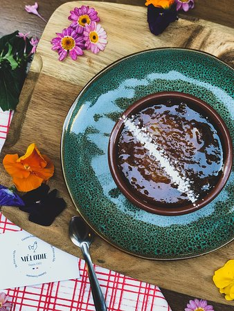 Restaurant Melodie: Crème Brulée au Caramel beurre salé