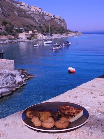 Cakes for breakfast with a view!