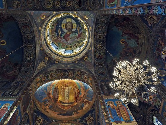 Church of the Savior on Spilled Blood - Amazing decoration