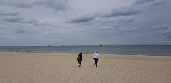 Sopot Beach: Vista de la playa