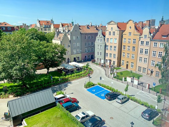 Hampton by Hilton Gdansk Old Town: View from my room