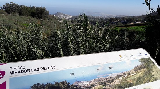 Firgas, Spanyol: Mirador Las Pella