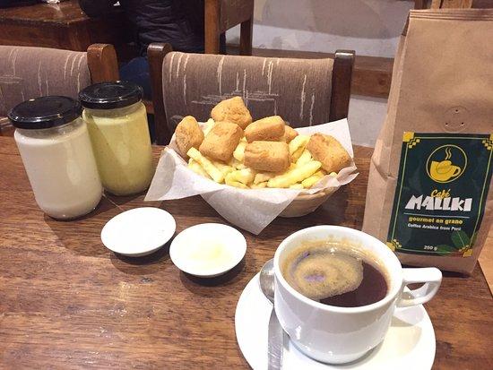 Ruben's Coffee: Está delicioso vegano mas café