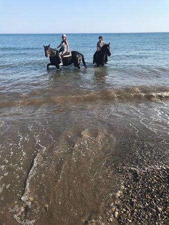 Nana's Horse Riding Photo