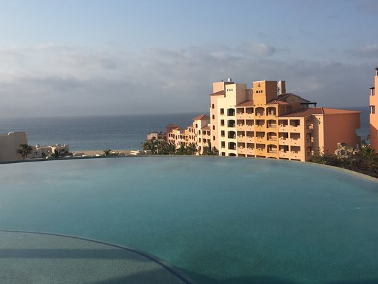 Playa Grande Resort: The view from the Ridge pool.