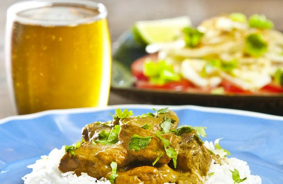 The Flaming Rabbit: curry