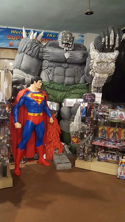 Superman Doomsday Picture Of Super Museum Metropolis Tripadvisor