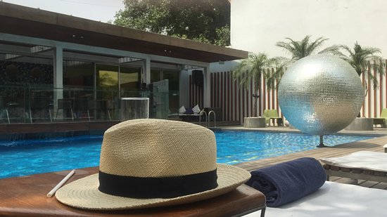 The Park New Delhi: Chilling at the pool side