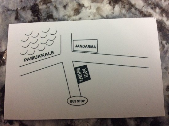 A business card of this restaurant/Hotel