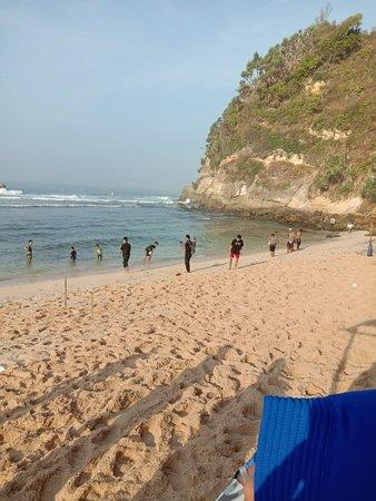 Wonogiri, Indonesië: Pantai Nampu