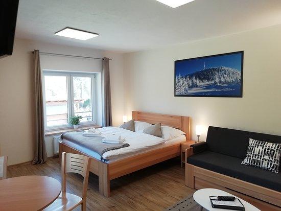 AP Lysá Hora - pokoj/ložnice