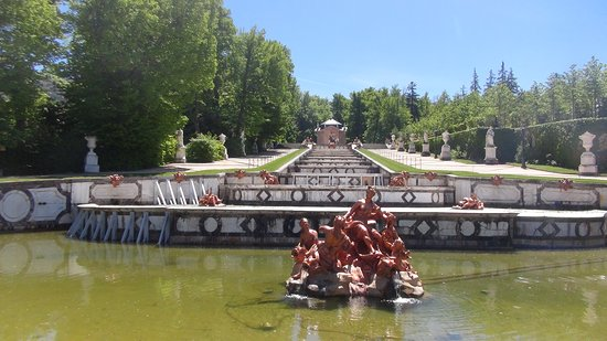 Jardines de la Granja de San Ildefonso: perspectiva