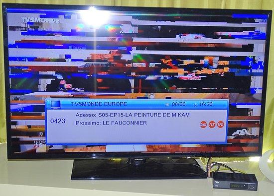 Absence de Télévision
