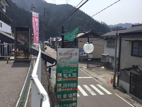 Tenryu-mura, Japonia: 龍泉閣