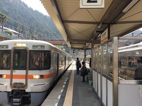 Tenryu-mura, Japonia: 平岡駅