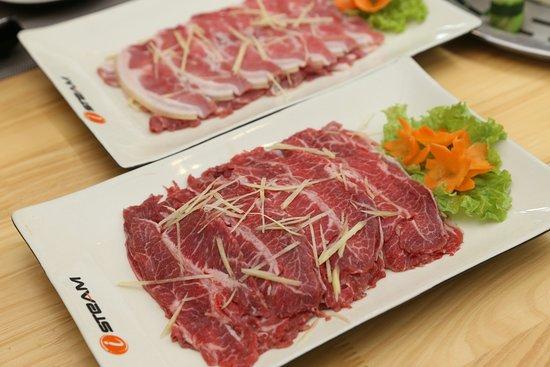 Lau Hap iSteam: Các món bò đều được chọn lọc kĩ càng