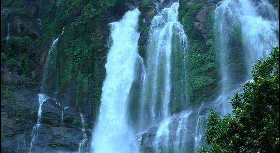 Karbi Anglong District, Índia: The Bheloghat waterfall is one of the natural water fall that adds the beauty and serenity of #karbianglong. This #waterfall draws huge tourist  and the trekkers specially during the winter season.