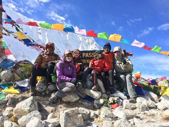 Larkya La Pass in Manaslu Circuit Trek 2018