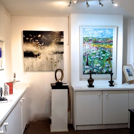 A wide selection of local, contemporary fine art.