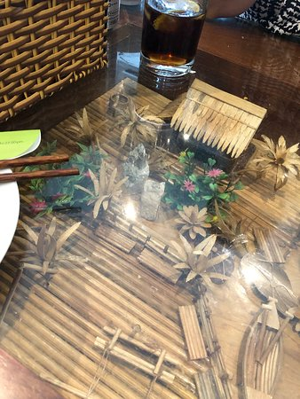What A Lovely Table Picture Of Mien Tay London Tripadvisor