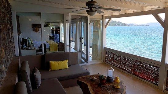 Karia Bel' Bozburun: Beach House 12 numaralı oda terası