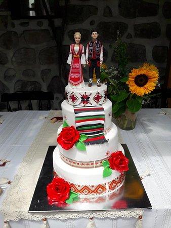Pazardzhik Province, Bułgaria: Автентичен фолклор - всички гости на сватбата,бяха облечени в носии и церемониите се изпълниха в традиционен стил