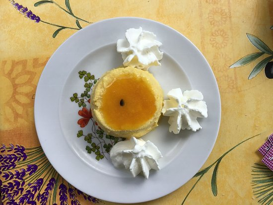 Comme A La Maison, La Riviere St Louis: Bavarois fruits de la passion