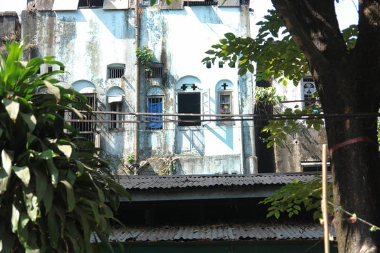 Yangon (Rangoon), Burma: Cartoline da Rangoon, Birmania