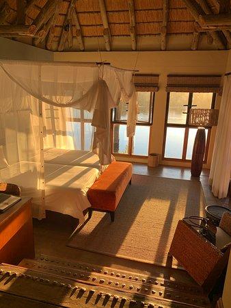 Divava Okavango Lodge & Spa: The villas