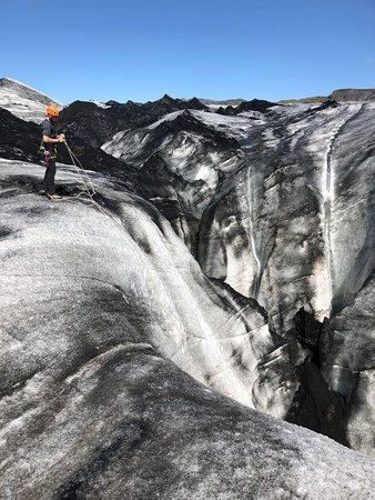 Glacier Walk on Solheimajokull Glacier: Ice Climbing