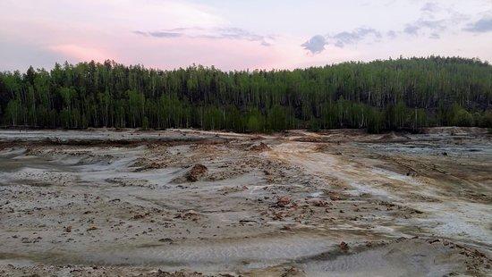 Река Сак-Элга, Карабаш.