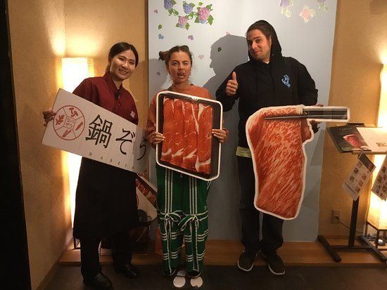 Nabezo Shinjuku 3 Chome: Thank you for coming today:) please visit us again.