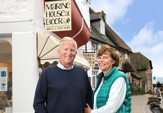Mike and Rosemary and all the team welcome you to our two galleries in beautiful Beer