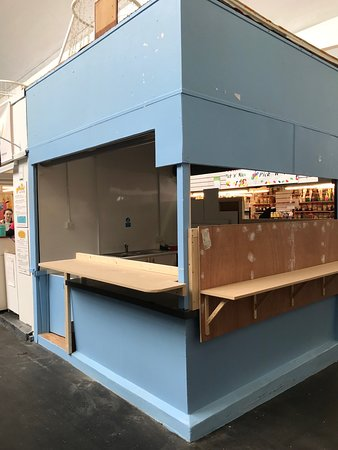 Adjacent stall absorbed by Kawaffle to create 'trendy cereal bar' for people needing a non cooked breakfast. To open soon.