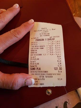 Guru - Restaurant & Bar: conto