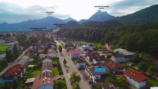 Hotel garni fuerstenhof fussen duitsland foto 39 s for Fussen design hotel