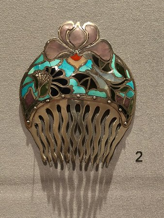 Albuquerque, NM: delicate inlay and silver work in beautiful
