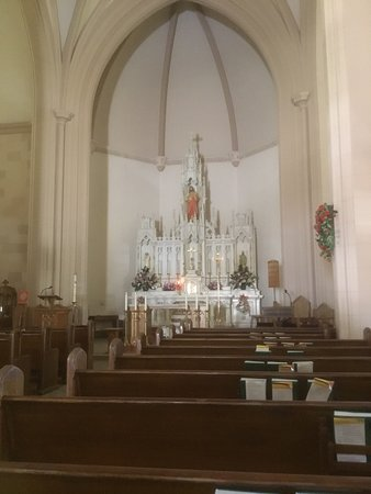 Bisbee, AZ: Inside of the Church